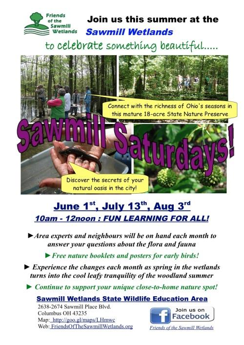 Sawmill Saturdays Summer_June